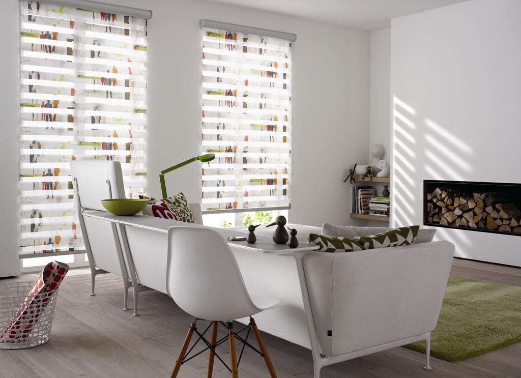 doppelrollo mit muster doppelrollo nach ma online kaufen klemmfix doppelrollo mit muster. Black Bedroom Furniture Sets. Home Design Ideas