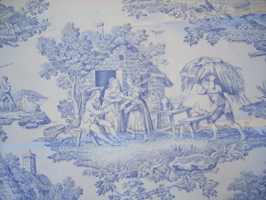 toile de jouy raumausstatter with ft sohn dortmund. Black Bedroom Furniture Sets. Home Design Ideas